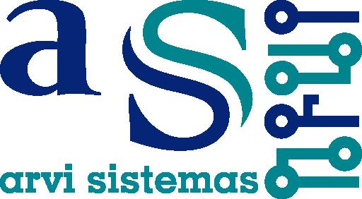 Logotipo Arvi Sistemas - Reparación y venta de móviles y equipos informáticos en Ferrol